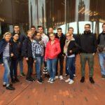 Teilnehmer einer Stadtführung durch Hamburg bei Führungen Hamburg